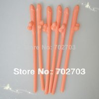 Wholesale 30pcs Hens Party Joke Sex Toys Dicky Sipping Straw Drinking Penis Straws