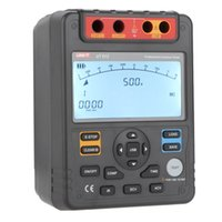 Wholesale UNI T UT512 Digital Insulation Resistance Testers Voltmeter Auto Range V Gohm w USB Interface Meters