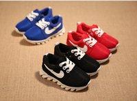 Wholesale New Arrive Autumn Fashion Kids Sports Shoes Boys Girls Fashion Sneakers Soft Bottom Children Casual Shoes