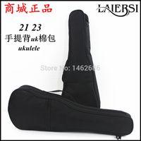 acoustic guitar packs - ukulele ukulele black cotton bag sponge bag Ukulele small harp guitar bag pack