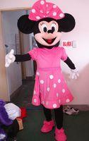 animal fur costume - Adult minnie mouse mascot costumes cartoon costume fur costumn animal character costume
