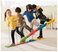 balance coordination - Team Stepper Balance Training Equipment Teamwork Coordination Kids Children Sensory Integration Toy