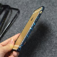 best iphone bumper - Hippocampus buckle Bumper Frame starry sky Spot Cases Cover for iphone s Plus inch iphone s s best