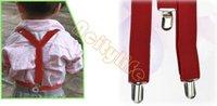 Wholesale KIDS Suspenders BOYS GIRLS Suspender Children Clip on Adjustable Elastic Pants Y back Suspender Braces Belt