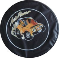 Wholesale Easy outdoor PVC waterproof dustproof car spare tire cover with inch inch inch inch