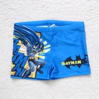 Boy batman trunks - Children Batman Swimming Trunk Summer NEW The Avengers Boys Cartoon Animal Printed Cute Swimming Trunk B001