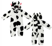 baby cow costumes - New Dairy Cow Baby Clothes Baby Clothing Baby Romper Baby Costume