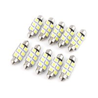 Wholesale Hot Search v festoon led smd mm mm mm mm c5w mm for car dome light reading license plate light bulb New