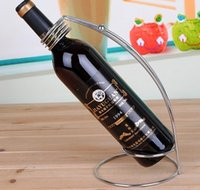 arc decorations - 2016 new piece EMS arc wine bottle holder Bar decoration color christmas gift