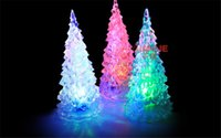 beautiful christmas trees - Pretty New LED Lamp Light Crystal Decoration Unique Beautiful Home Party Gift Decor Xmas Christmas Tree