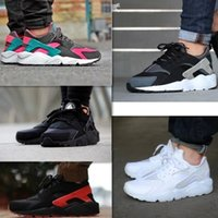 Wholesale 2015 New Nike Air Huarache Men Running Shoes Sports Shoes For Men Air Huarache Athletic Shoes Size