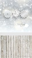 background snowflakes - Printed photography background fabric cloth christmas snowflake backdrop ft width x ft D
