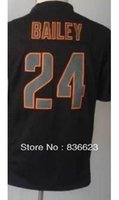 bailey mix - Factory Outlet Champ Bailey Youth Impact Limited Black Football Jersey Embroidery and Sewing mix order