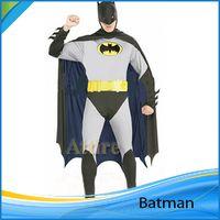 trajes para adultos clásico Batman para el hombre BatMan Ropa Zentai con el cabo del mono del mono, tienen Supermanc Spiderman