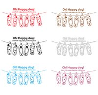 cartoon slippers - Wall Art Stickers Quotes Fashion Style Slipper Wall Stickers for Bedroom Best Removable Home Decor Wall Stickers Color