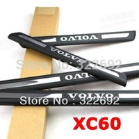 Wholesale Auto Door Sill Entry Guards Scuff Protector ABS Chromed For VOLVO XC60