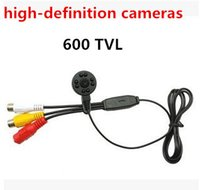 Wholesale 600TVL micro hd security mini cctv camera Hd high definition Audio video Night vision without red mini camera CMOS