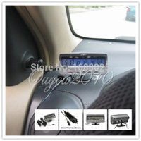 Wholesale 2015 Hot Sale High Quality V Car Voltage Monitor Battery Alarm In Out Temperature LCD Thermometer Clock