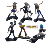Wholesale Soul Eater PVC Figure style Japanese Animation Cool Beautifully Hand Dolls kg set Approx cm Figure Model