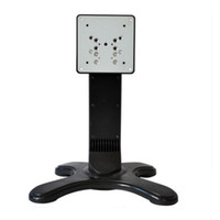 Wholesale 10pcs LCD Desktop Stand Standard TV Bracket for Universal inch LCD Monitor VESA Bracket PC Mount LCD Stand for POS