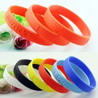 Wholesale P0506 For Derrick Rose Basketball Star Silicone Bracelet Sport Men Embossed Wristband Bangles