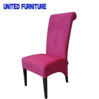 Wholesale fast shipping High Back fabric Chair Dining Chair Factory direct supply Grace and Ventura dining chair