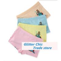 baby boxing shorts - fashion Baby Girls chic fashion Cotton underpants Boxing shorts for girls brief gift Cheap underwears