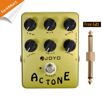 AC Tone ac electric circuits - Joyo JF AC Tone Vintage Tube Amplifier effects pedal analog circuit and bypass MU0013