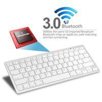 apple gaming keyboard - Ultra slim Wireless Keyboard Bluetooth for Apple iPad iPhone Series Mac Book Samsung Phones and Tablets