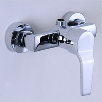 shower mixer tap - Bathroom faucet bath tub cold and hot mixer tap wall mounted shower faucet C3072