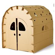 Wholesale High Quality Cardboard House for Kids Good Unique Building Model New Arrival For Sale EB DJ15563