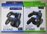 Dual Controller Charger Station de stationnement de station de charge pour Sony PlayStation 4 PS 4 PS4 Xbox One Game Gaming Wireless Controller Console