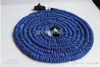 Wholesale 2013 New Landscape Expandable flexible hose FT blue water hose GARDEN hose pipe flexible