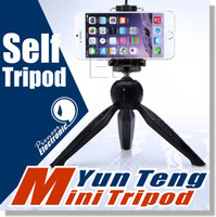 Wholesale For iPhone s Cell Phone Tripod Yunteng Mini Tripod Universal Holder Clip for Most Digital Camera Cell Phone Tripod Also Fits Monopod