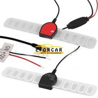 Precio de Car antenna amplifier-Nuevo Auto Parts móvil del coche TV digital DVB-T 12V Antena Amplificador conector SMA para el coche exterior