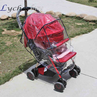 Wholesale 1 Pc Universal Baby Strollers Pushchairs Waterproof Rain Cover Wind Shield
