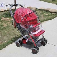 Wholesale 1 Pc Universal Baby Strollers Pushchairs Waterproof Rain Cover Wind Shield