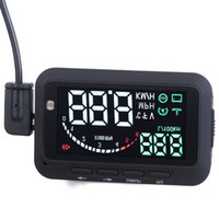 Wholesale 2nd Generation Car HUD Display Speed in Both Miles and KMs Compatible with More Cars with Super Brighter Display