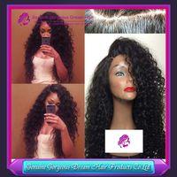 custom made full lace wig - CARO BRAZILIAN DEEP SPRING CURL FULL LACE WIG FRONT LACE WIG UNIT UNPROCESSED VIRGIN HAIR WIG CUSTOM MADE WIG