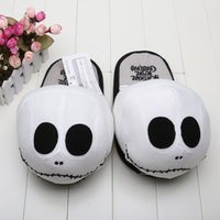 plush slippers - plush slipper The Nightmare Before Christmas stuffed slipper inch Adult fashion