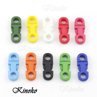 Wholesale 30pcs Pack mm Hole s DIA Straight Flat Plastic Colorful Side Release Buckles for Mobile Phone Paracord A021 Mix