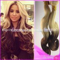 Cheap Peruvian Hair ombre hair weaves Best Body Wave virgin peruvian hair ombre hair two tone