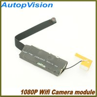 Wholesale 2015 New Wireless WIFI IP P2P Camera Module Board HD Camera CCTV Camcorder DV DVR Security Monitor By Phone Computer