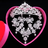 Wholesale New Arrival Chinese Bling Rhinestone Crystal Tiaras Crowns Wedding Accessories Bridal Headpiece Hair Jewelry Headwear Jewellery