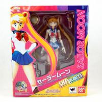 SHF Sailor 15cm 6inches japonais Anime Sailor Moon Mercury Mars Venus PVC Toy Action Figure Poup? E des Enfants