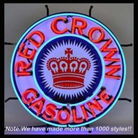 best energy bars - Neonetics Red Crown Gasoline Neon Sign Neon Bulbs Recreation Glass Tube Handcraft Best Gifts Beer Bar Pub Store Display x24