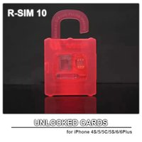 Wholesale Hot Selling And General Used Nano Cloud Unlock Card R SIM for iPhone series S C S Plus iSO8 X