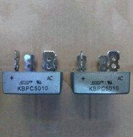 Wholesale New White KBPC5010 Volt Bridge Rectifier A Metal Case V Diode Bridge
