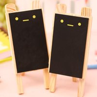 Wholesale Mini rabbit black board Small blackboard Wooden chalkboard pizarra tiza quadro negro Zakka office material school supplies