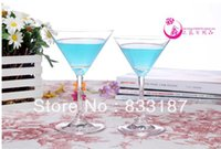 martini glasses - Glass Forming a Crystal Cocktail Martini Cup Triangular Glass Cup ML